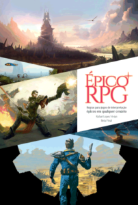 Capa do Épico RPG Beta Final