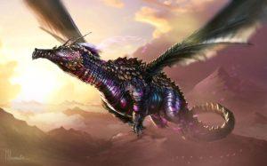 Dragon por Michael Richards (michael-richards.co.uk). Arte editada: recorte, brilho, saturação. Publicado sob licença Creative Commons Atribuição 3.0. Veja a licença em creativecommons.org/licenses/by/3.0/br.