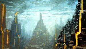 Magma Gorge por Michael Richards (michael-richards.co.uk). Arte editada: recorte, brilho, saturação. Publicado sob licença Creative Commons Atribuição 3.0. Veja a licença em creativecommons.org/licenses/by/3.0/br.