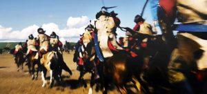 Carga a cavalo Épico RPG Longínqua